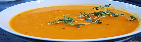 Curried Apple Squash Soup